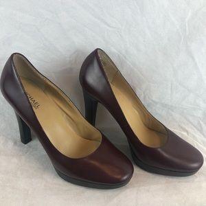 Michael Kors Leather Upper High Heel